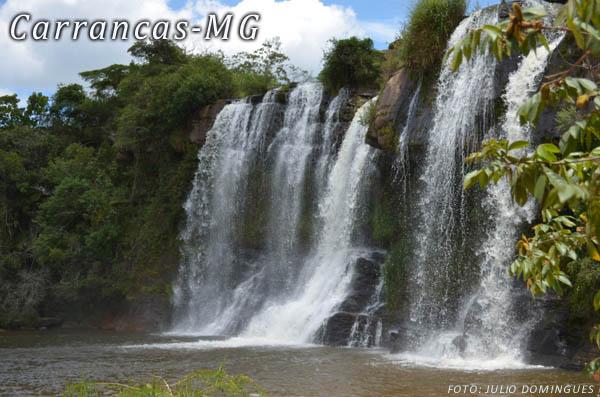 """CARRANCAS -MG """" A CIDADE DAS CACHOEIRAS"""" – 4 DIAS"""