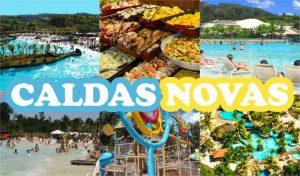 """CALDAS NOVAS – """" O PARAISO DAS ÁGUAS TERMAIS! """"- 8 DIAS\ 7NTS"""