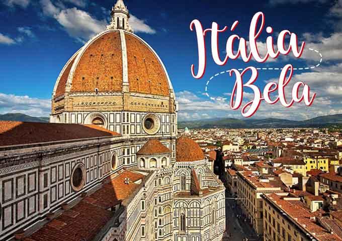 ITALIA PREMIUM – 11 DIAS COM GUIA DESDE O BRASIL