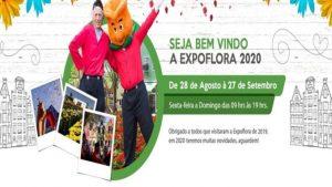 EXPOFLORA 2020- HOLAMBRA E ATIBAIA – 3 DIAS