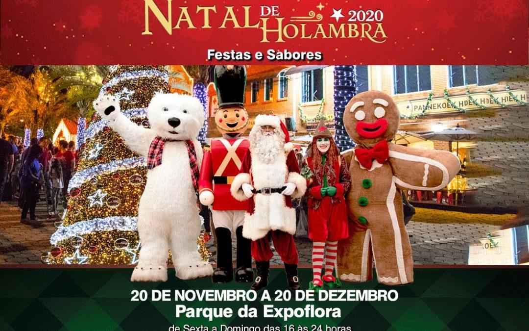 Natal de Festa e Sabores em Holambra- 3 dias